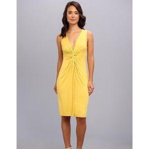 BCBG Max Azria Karen yellow dress